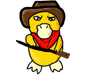 Cowboy Psyduck