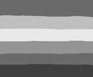Grayscale Pride Rainbow