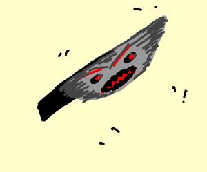 Angry knife