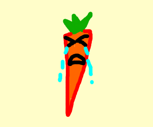 A CARROT HAS AN ANXIETY ATTACK