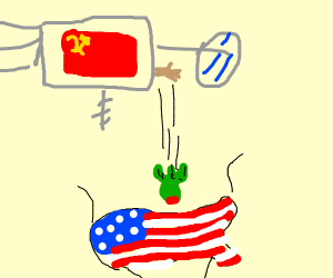 filthy space commie nukes usa