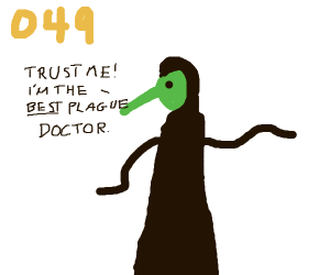 best Plague Doctor in all of Europe
