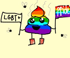 LGBT poop (What?)