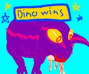 Dinosaur vs Jeff