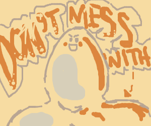 BUFF egg is bouta scramble your hash