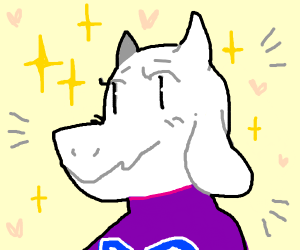Toriel(goat mom) from Undertale