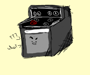 A confused stove