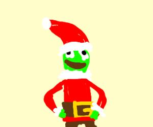 Kermit is Santa