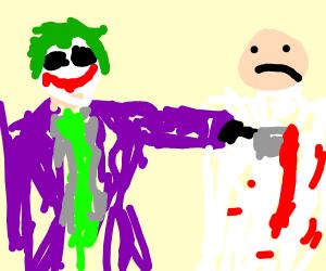 the joker is killing a doctor