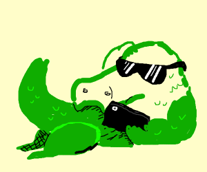 Alligator Influencer