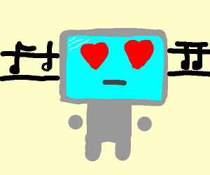 roboter loves music