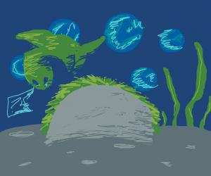 Underwater Taco