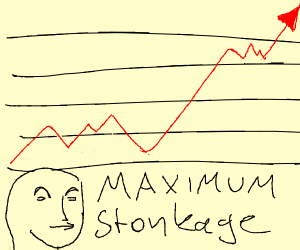 Stonks are going up