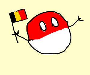 belgian polandball