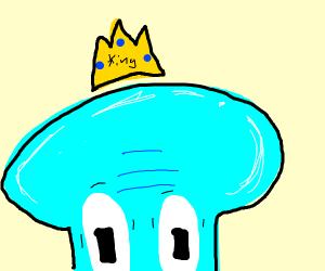 King Squidward