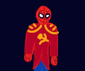 Communist Spiderman