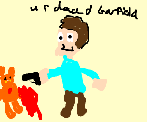 Jon has just killed Garfield