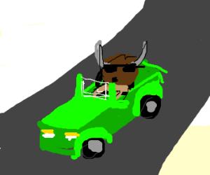 Minotaur Driving
