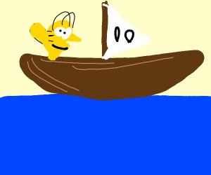 Homer crossing the Ocean