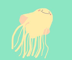 Cute happy Jellyfish
