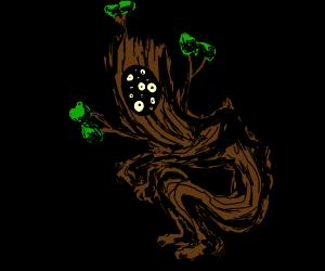 scary tree man