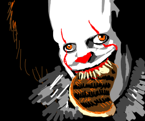 Pennywise loves steak