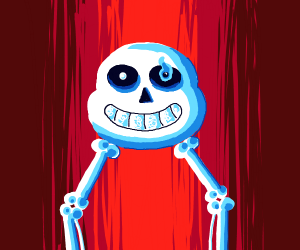 sans reveals his true form