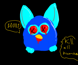 Furby has taste for human flesh