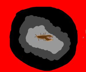 A huge earwig bug killed somebody!