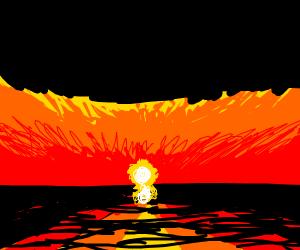 sunset drawception is 10/10