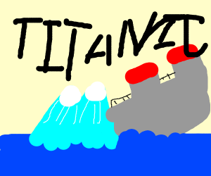 R/entitledparents: titanic and iceberg incide