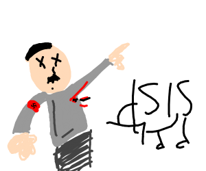 ISIS assassinates Hitler