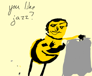 Bee Movie jazz scene