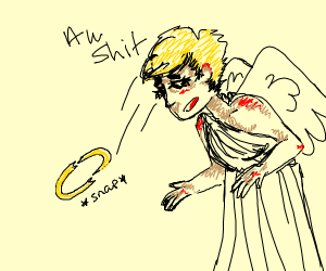 angel broke her halo