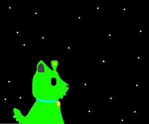 Adorable Alien Puppy