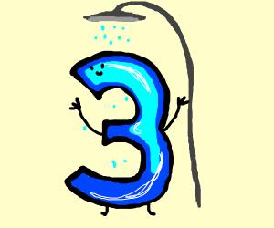 3's shower