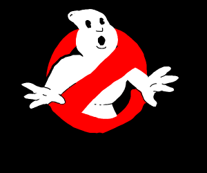 ghost busters sign