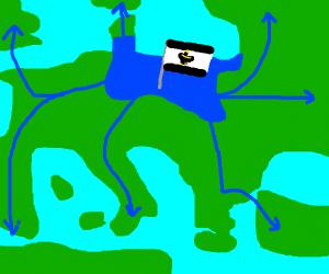 Prussia conquers Europe