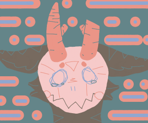 crying monster