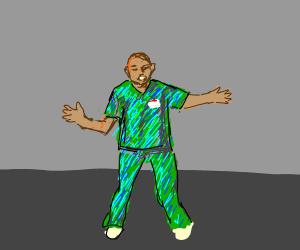 Scrubs Poison Dance
