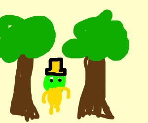 leprecon in the woods