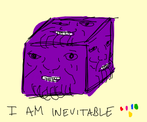 thanos cubed