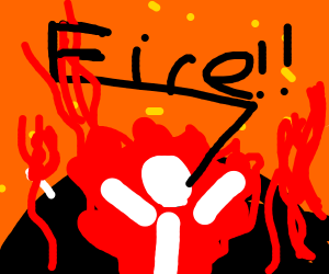 screaming fire