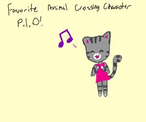 Favorite Animal Crossing Character (PIO)