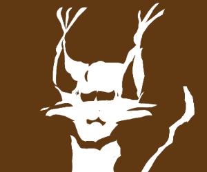A white lynx