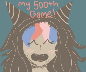 Ibuki Mioda (Happy 500th Game)