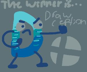 Drawception D in Smash