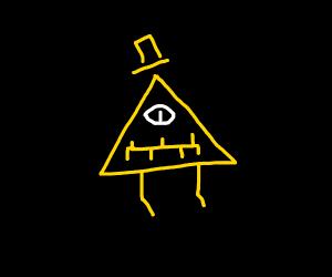 Bill Cipher In The Dark