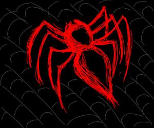 spiderman logo bug but real