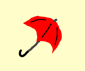 Playing with an Umbrella